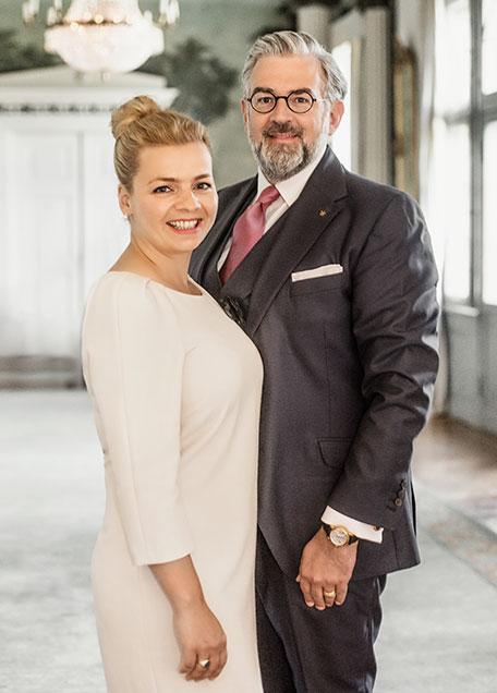 Manuela & Armin Hoeck, SCHLOSSHOTEL BURG SCHLITZ