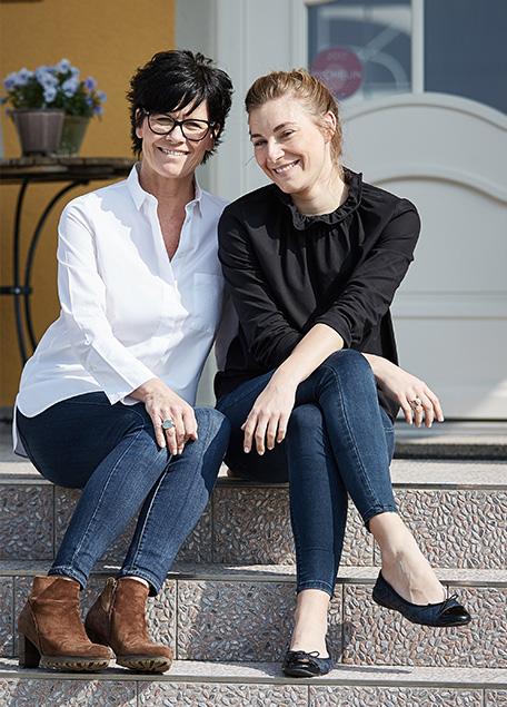 Sonja und Alisa Fischer, Hotel VILLINO, Bodensee